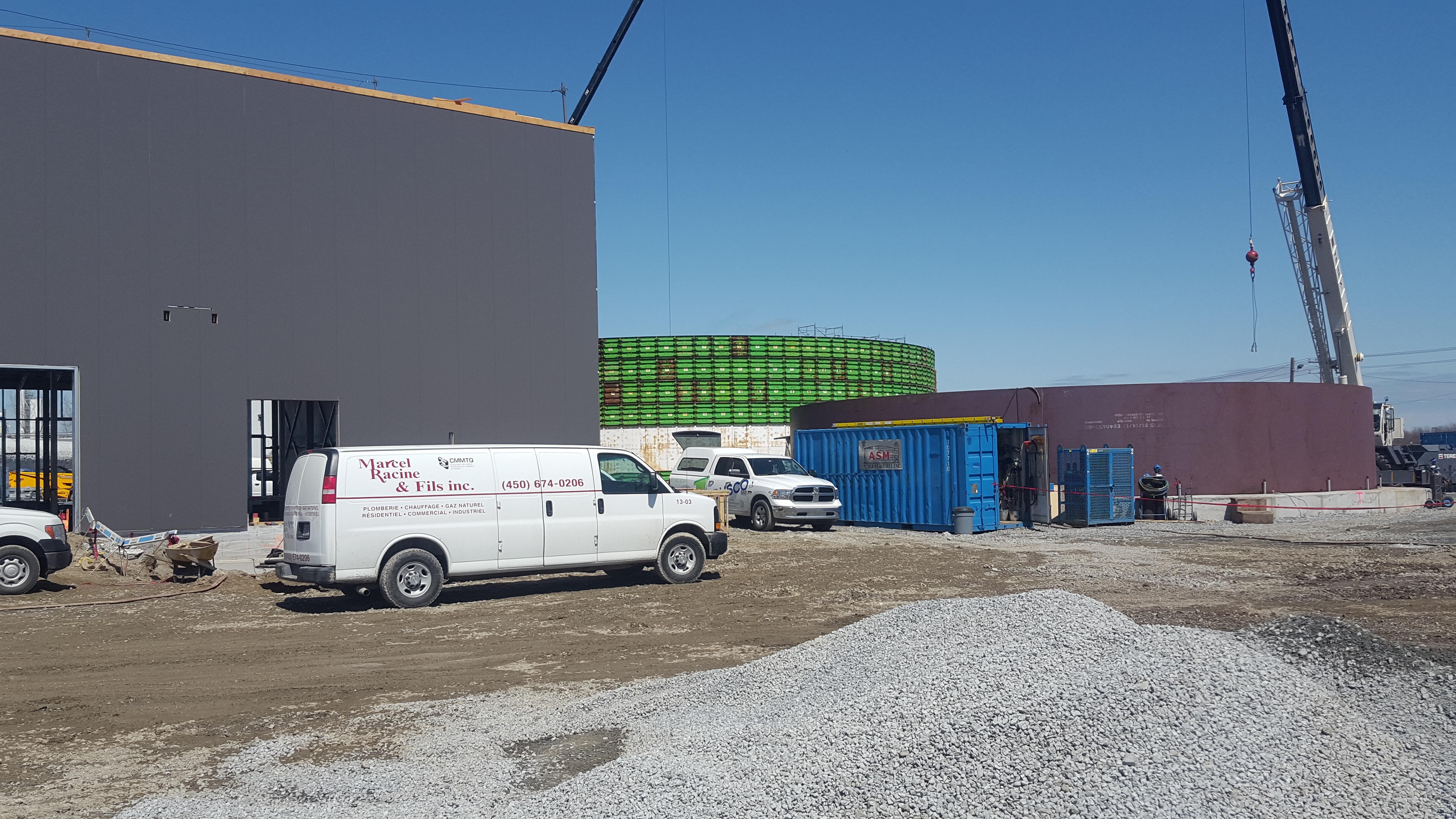 Biomethane CH4 (biogas)